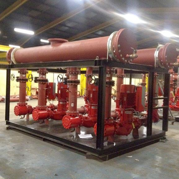 plant and pipework modules